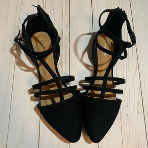 Maurice's Strappy Flats